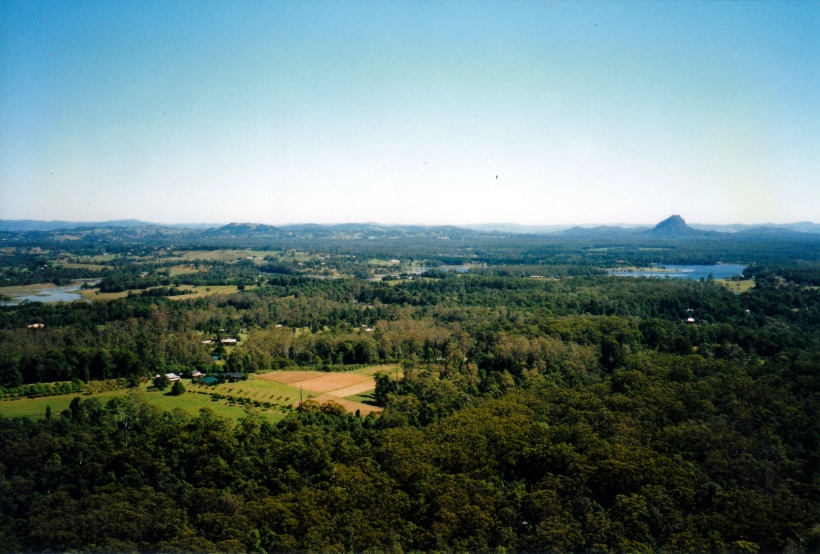 04-26-1998 01 view NW over Lake McDonald from Mt Tinbeerwah.jpg