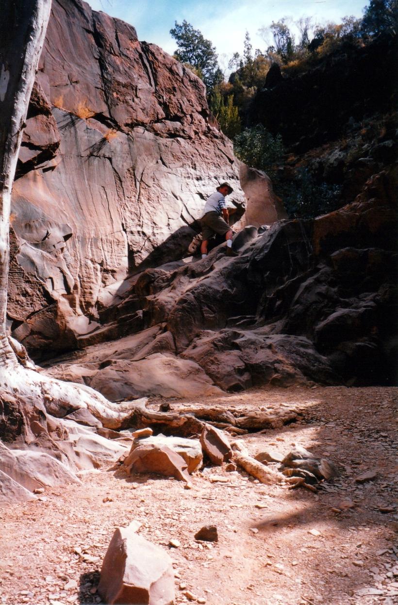 05-07-1999 05 john in sacred canyon