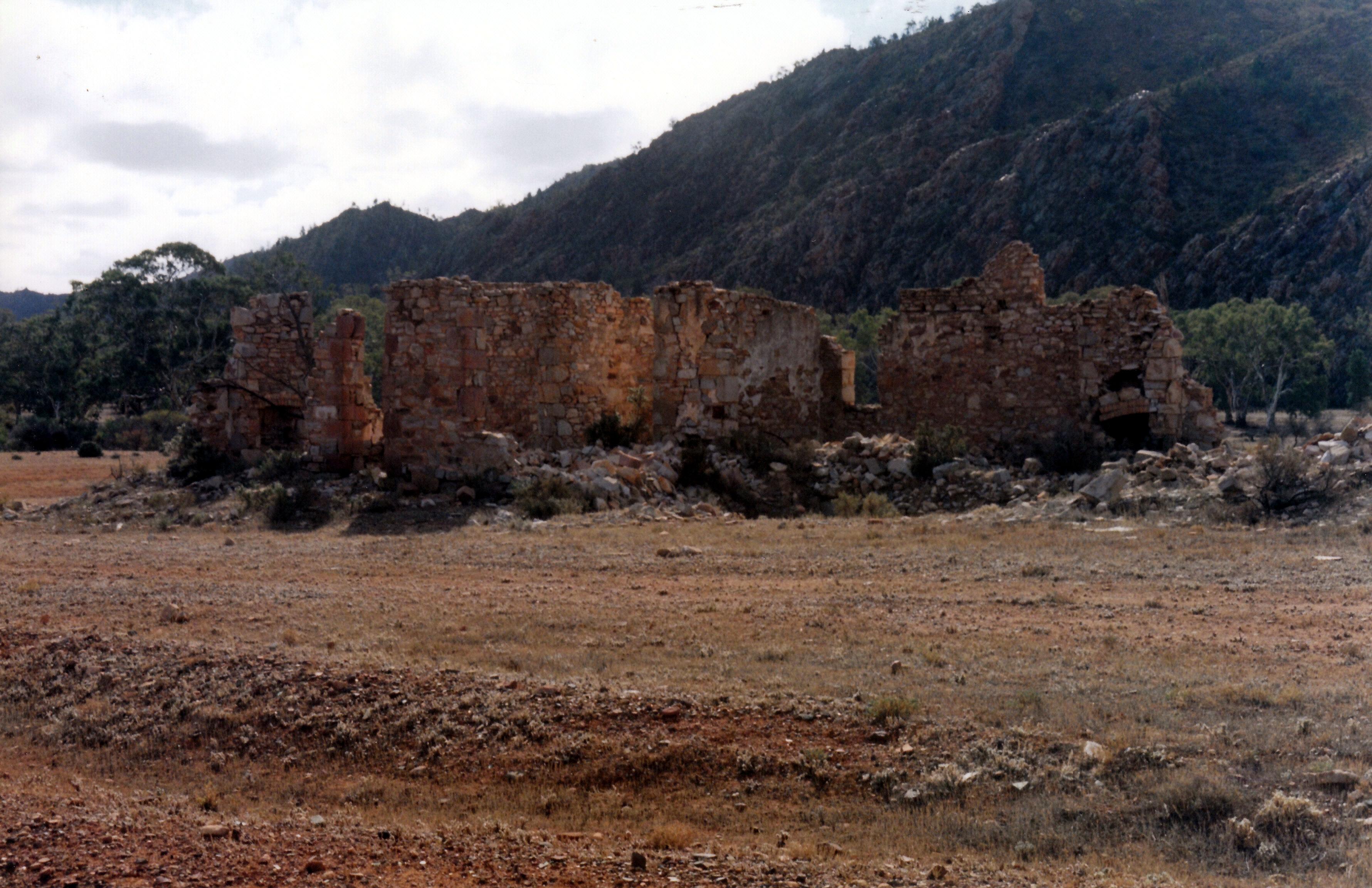 05-23-1999 09 ruins at the Sliding Rock