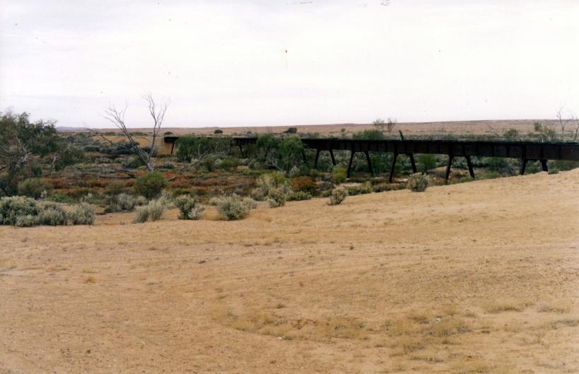 05-26-1999 02 Gregory Creek old Ghan bridge 0m asl