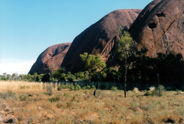 06-02-1999 Ayers Rock ancestral fight scars