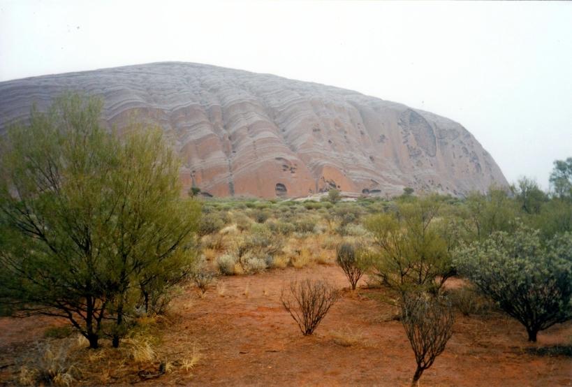 06-05-1999 The rock in the rain