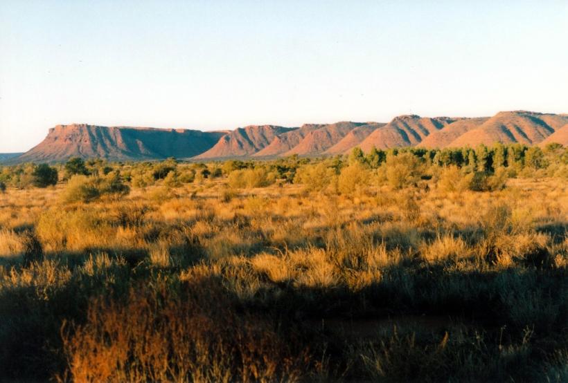 06-09-1999 sunset George Gill Range.jpg