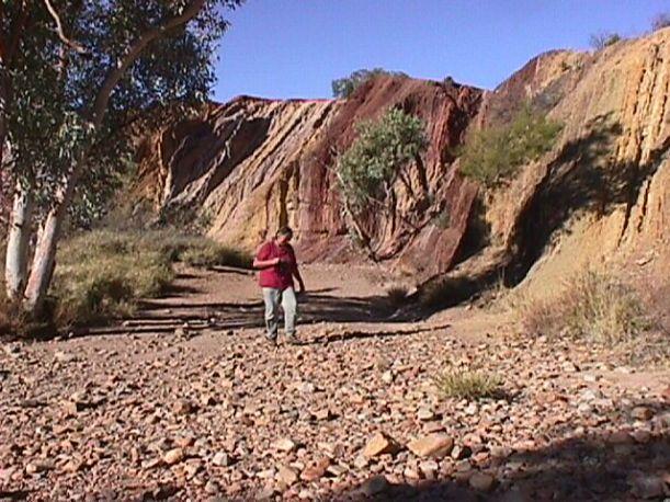 06-28-1999 wendy walking at Ochre Pits.JPG