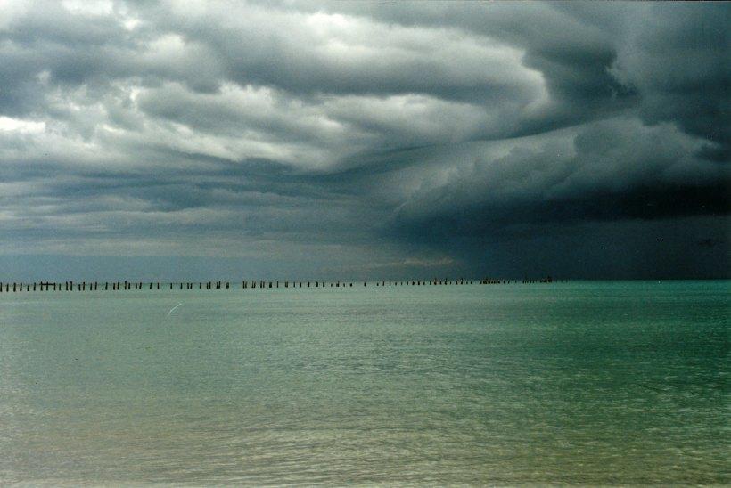 11-09-1999 06 Bridport dark storm clouds