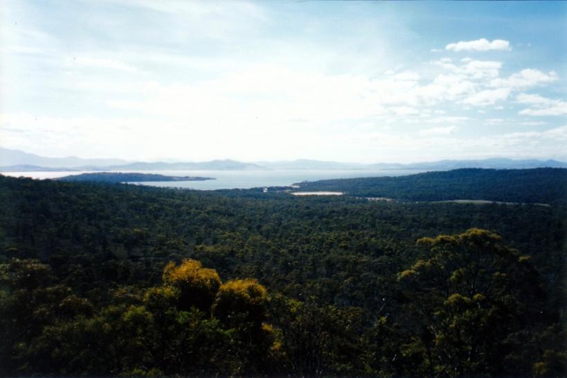 11-24-1999 from Mt Stewart towards Lagoon Bay