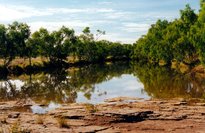 06-21-2000 03 Victoria River waterhole
