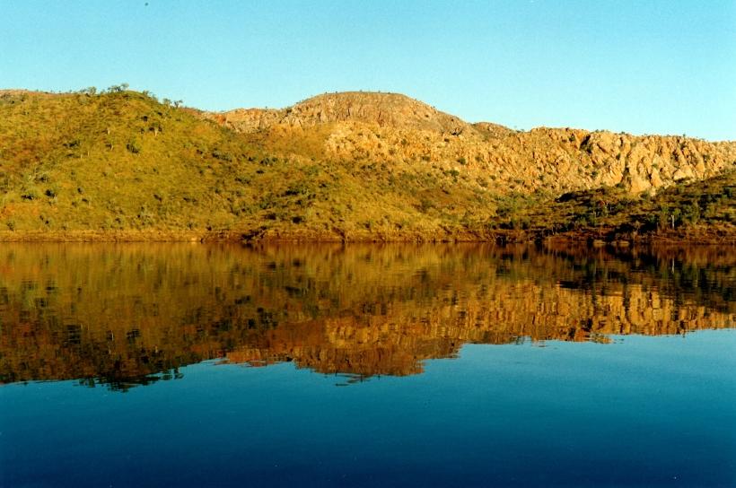 06-28-2000 03 lake argyle reflections