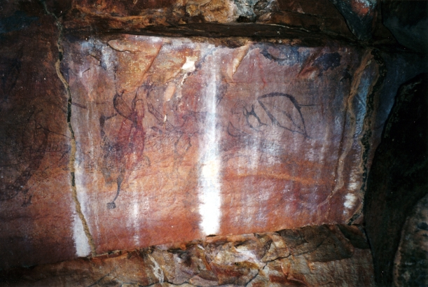 08-06-2000 03 rock art under Little Mertens Falls.jpg
