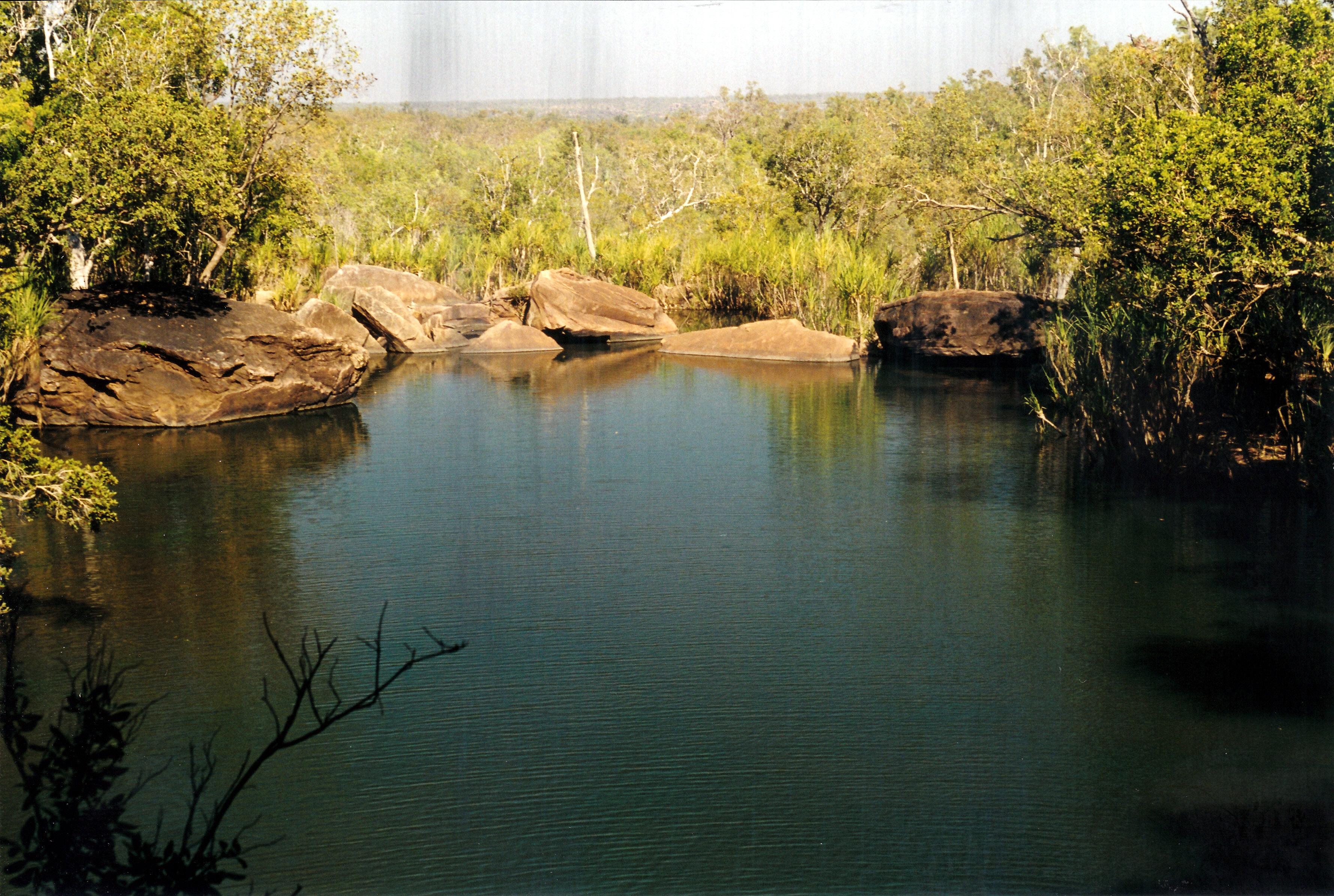 08-06-2000 06 from behind Little Mertens Falls