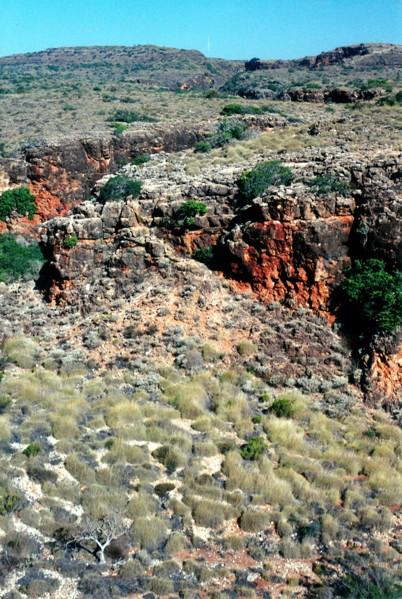 10-24-2000 Yardie Creek Gorge