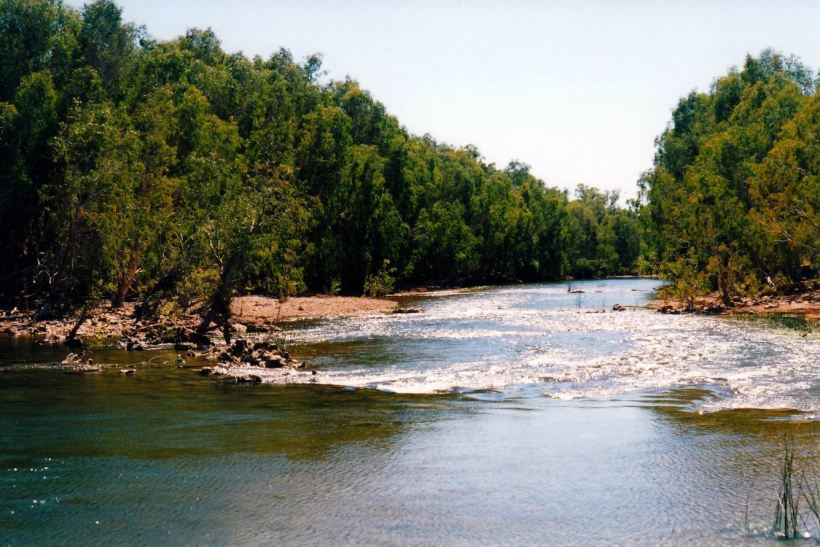 Resize of 06-11-2002 04 Gregory River upstream rapids.jpg