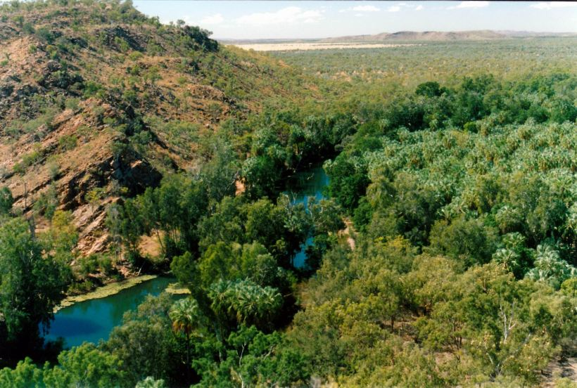 Resize of 07-31-2002 07 Lower Gorge and country beyond from Island Stack.jpg
