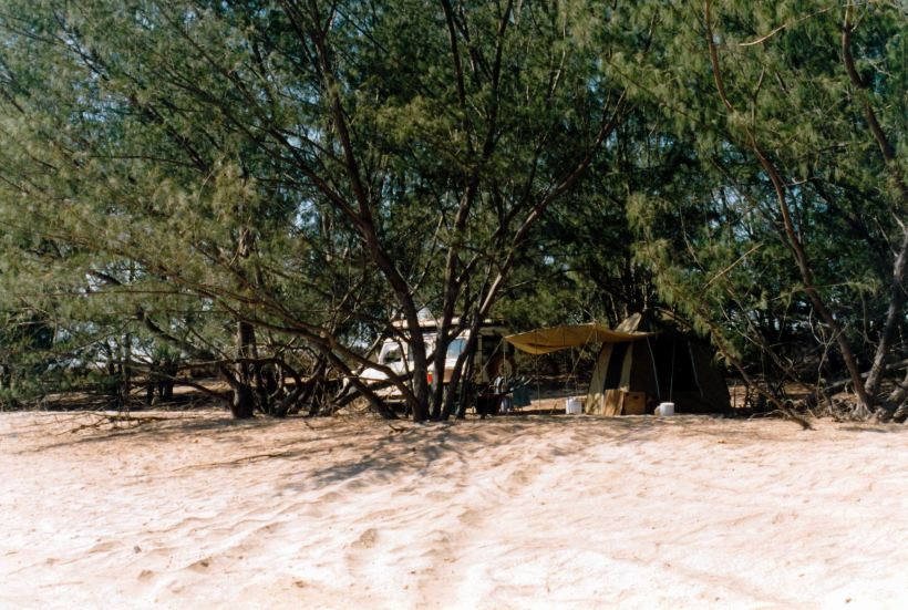 Resize of 08-24-2002 04 our Wollogorang camp from beach
