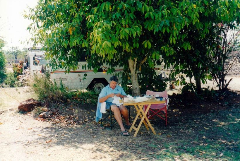 Resize of 10-04-2002 relaxing at bedrock