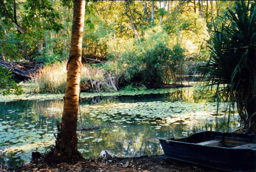 Resize of 06-06-2003 01 by canoe hire area lawn hill nat park
