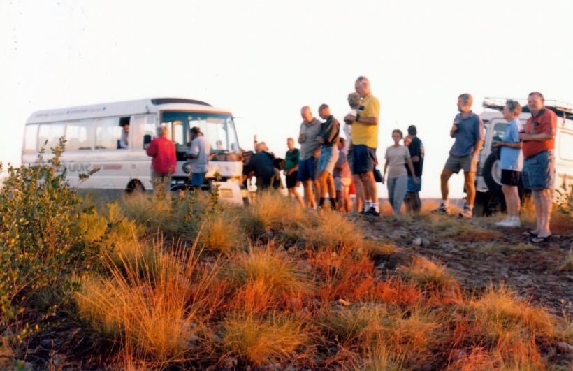 Resize of 06-13-2003 01 sunset & moonrise on Bill Hill