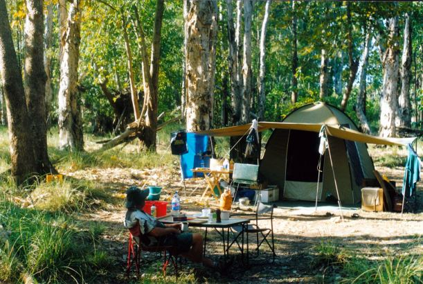 Resize of 09-20-2003 05 Fig Tree camp in paperbarks.jpg