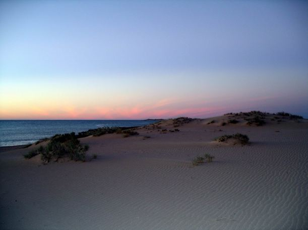 Resize of 08-07-2004 06 Cape Range sunset