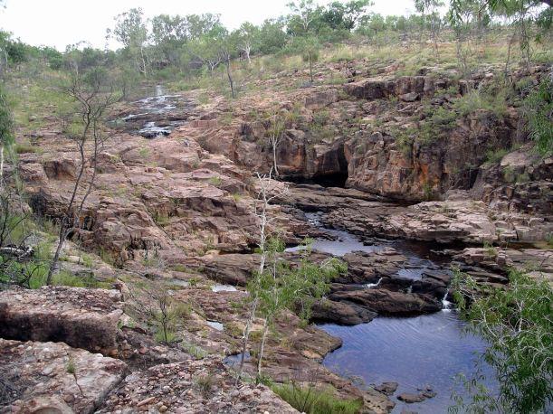 Resize of 05-07-2005 12 Waterfall Hot Dog Creek.JPG