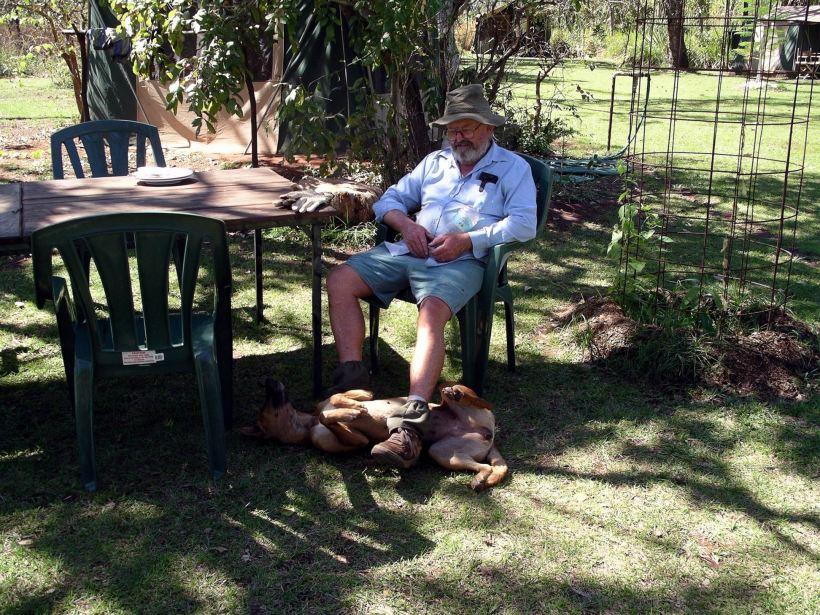 Resize of 07-30-2005 03 John with Skunge footrest.JPG