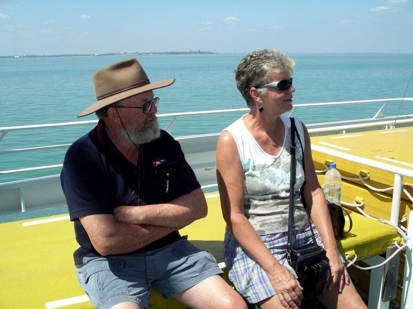 Resize of 08-16-2006 04 Mandorah ferry John & Mem