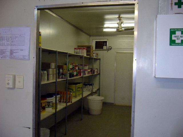 11-13-2006 A filled Kitchen Storage Area