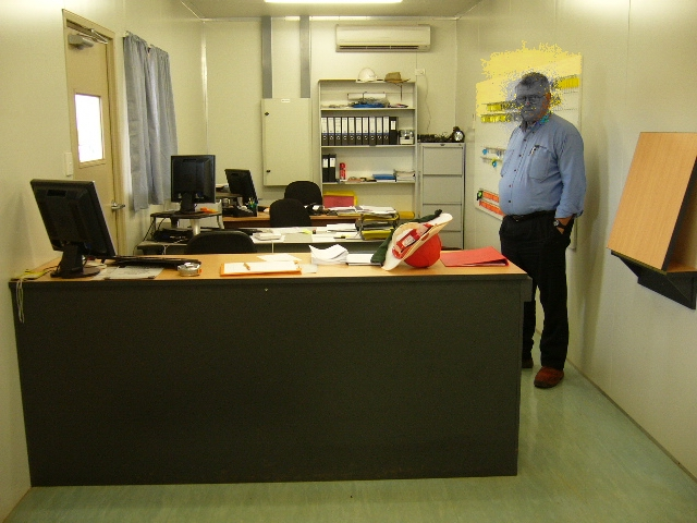 11-23-2006 Spotless Office where security mess is required amended